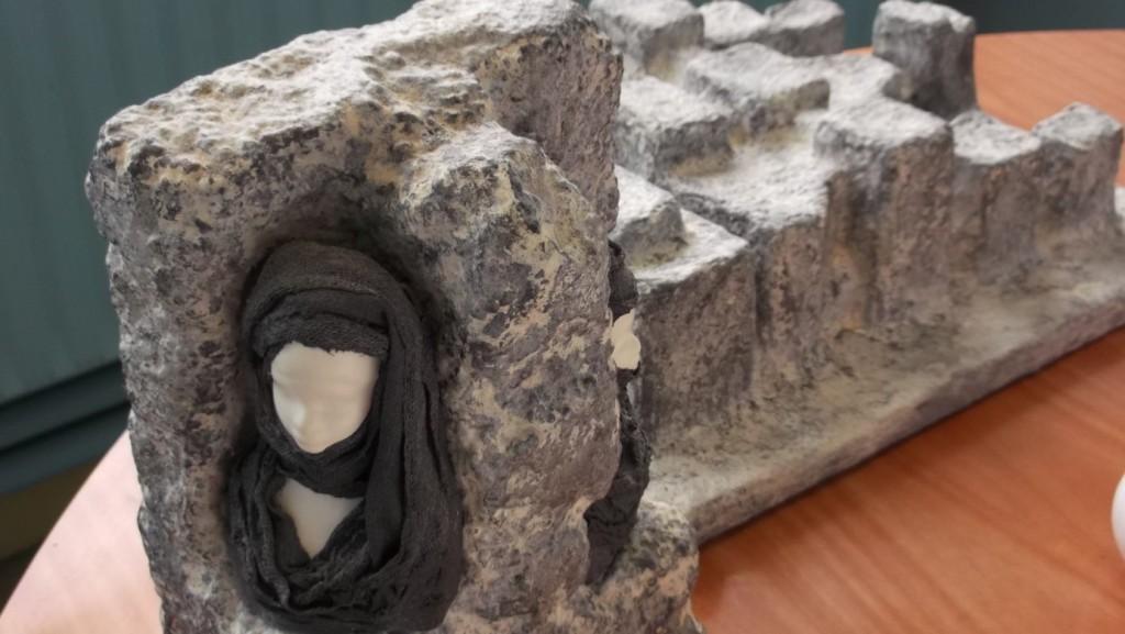 Un atelier d'art plastique à l'ESAT de La Loupe