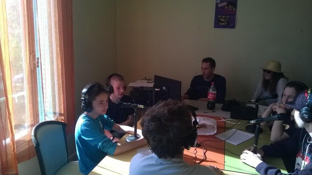 Web radio à Glaye