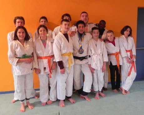 Passage de grades section Judo IME 2016