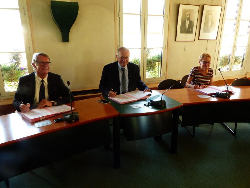 Signature du transfert de bail IME Arc-en-Ciel à «La Maison Maternelle» du 9 septembre 2020