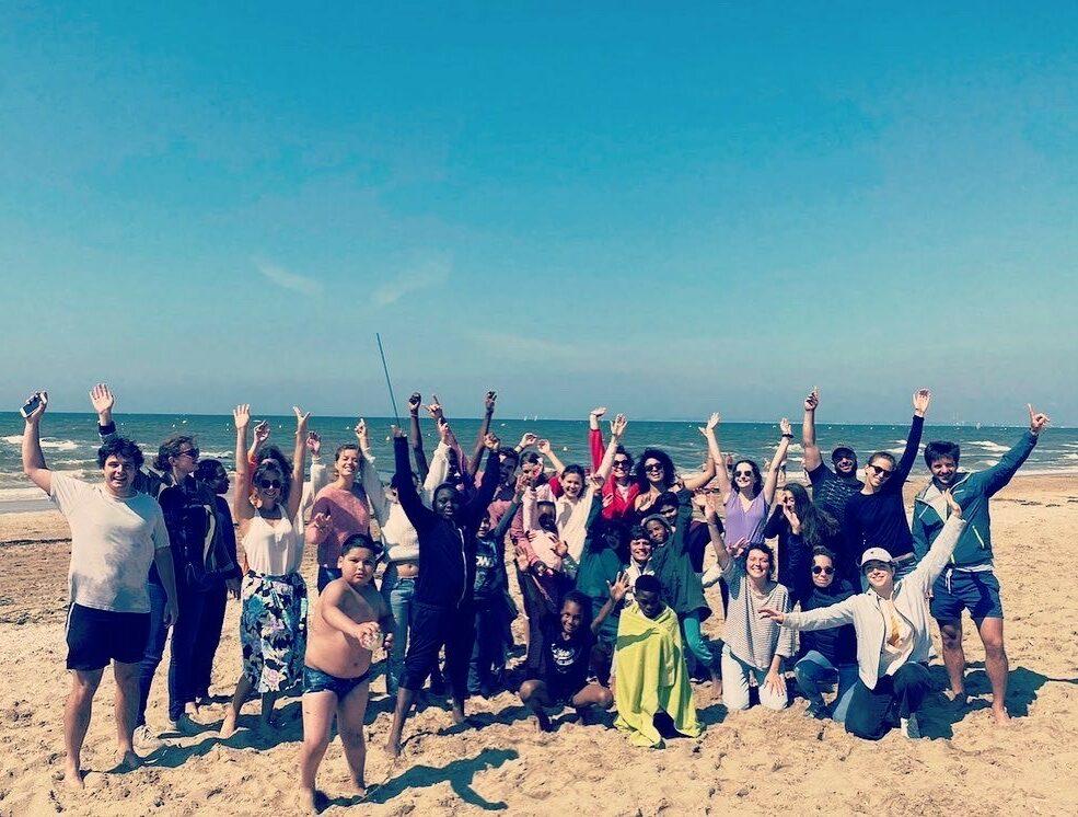 Une journée à la mer pour les jeunes de la Maison Manin