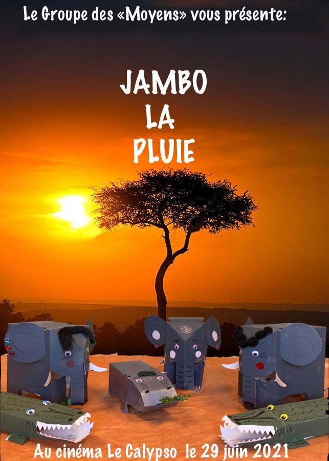 Projection du film Jambo La pluie au cinéma Le Calypso de Viry-Chatillon